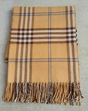 Scottish Tartan Alpaca Throw for sale by Purely Alpaca