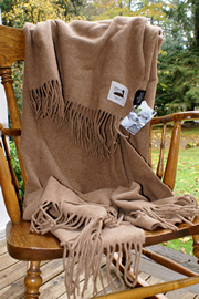 Sierra Alpaca Blanket Throw for sale by Purely Alpaca