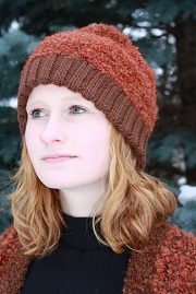 Brisa Boucle Ribbed Alpaca Hat for sale by Purely Alpaca
