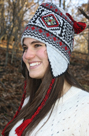 Kaitlyn Earflap Alpaca Hat for sale by Purely Alpaca