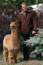 Mens Alpaca Barn Jacket sold by Purely Alpaca