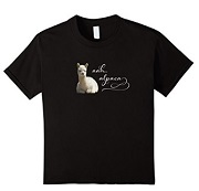 Aah Alpaca T Shirt for sale by Walnut Creek Alpacas