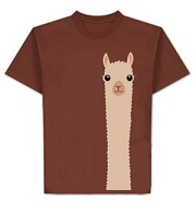 Alpaca Watching T Shirt for sale by Purely Alpaca
