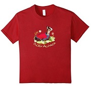 Ruby Alpaca T Shirt for sale by Walnut Creek Alpacas