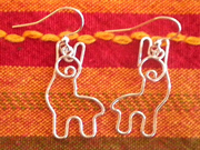Adorable Alpaca Earrings Purely Alpaca
